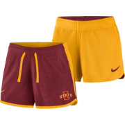 Nike Women's Iowa State Cyclones Cardinal/Gold Touch Reversible Performance Shorts