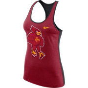 Nike Women's Iowa State Cyclones Cardinal Dri-FIT Touch Tank Top