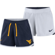 Nike Women's West Virginia Mountaineers Blue/White Touch Reversible Performance Shorts