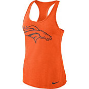 Nike Women's Denver Broncos Dri-FIT Performance Orange Tank Top
