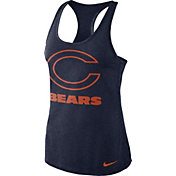 Nike Women's Chicago Bears Dri-FIT Performance Navy Tank Top