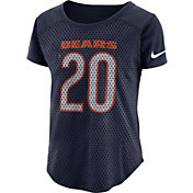Nike Women's Chicago Bears Modern Fan Navy Top