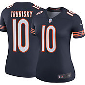 Nike Women's Color Rush Legend Jersey Chicago Bears Mitchell Trubisky #10