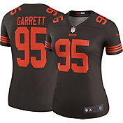 Nike Women's Color Rush Legend Jersey Cleveland Browns Myles Garrett #95