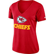 Nike Women's Kansas City Chiefs Dry Performance Red V-Neck Top