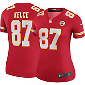 Nike Women's Color Rush Legend Jersey Kansas City Chiefs Travis Kelce #87
