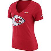 Nike Women's Kansas City Chiefs Tri Badge Red T-Shirt