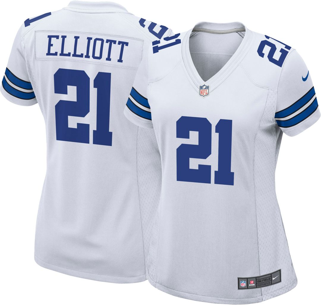 timeless design 0716d 84a9a Nike Women's Game Jersey Dallas Cowboys Ezekiel Elliott #21