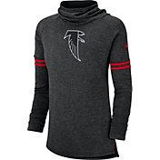 Nike Women's Atlanta Falcons History Black Funnel Pullover