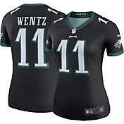 Nike Women's Color Rush Legend Jersey Philadelphia Eagles Carson Wentz #11