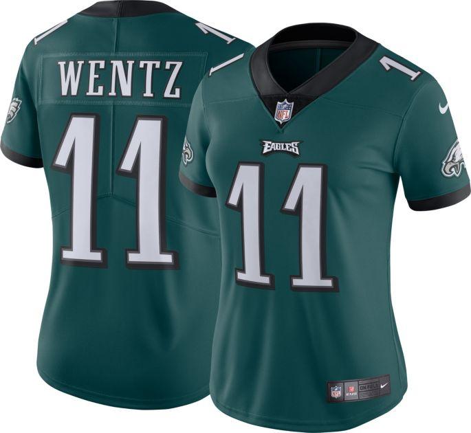 check out bb4e0 62ce7 Nike Women's Home Limited Jersey Philadelphia Eagles Carson Wentz #11