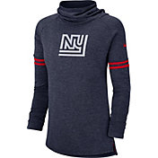 Nike Women's New York Giants History Navy Funnel Pullover