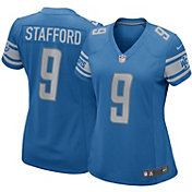 Nike Women's Detroit Lions Matthew Stafford #9 Blue Game Jersey