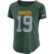 Nike Women's Green Bay Packers Modern Fan Green Top