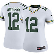 Nike Women's Color Rush Legend Jersey Green Bay Packers Aaron Rodgers #12