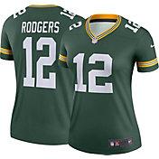 Nike Women's Home Legend Jersey Green Bay Packers Aaron Rodgers #12