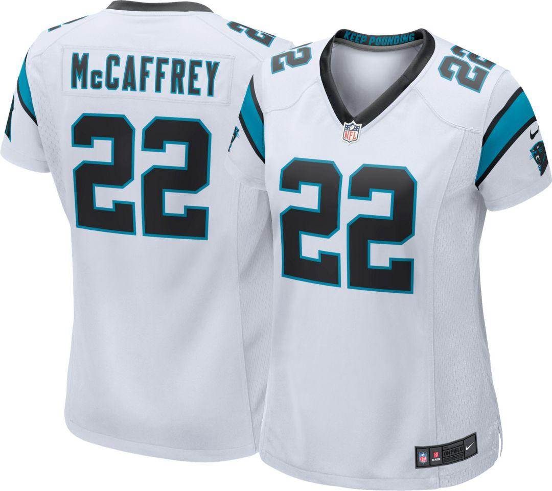 4c26b54ca90 Nike Women's Away Game Jersey Carolina Panthers Christian McCaffrey ...