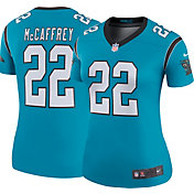 Nike Women's Color Rush Legend Jersey Carolina Panthers Christian McCaffrey #22