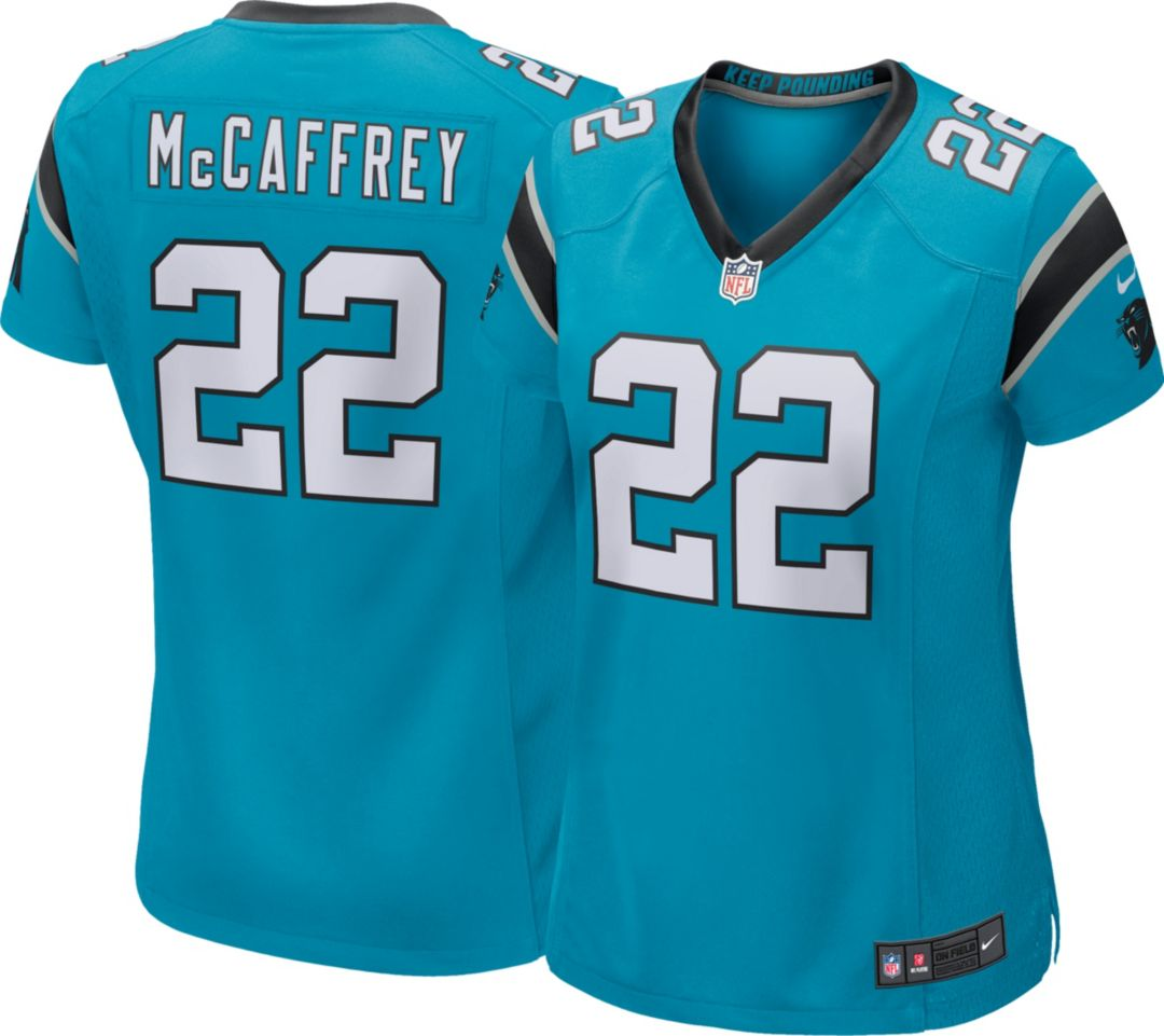 the latest 6e75f d6fce Nike Women's Alternate Game Jersey Carolina Panthers Christian McCaffrey #22
