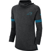 0085aae85 Nike Women s Carolina Panthers Modern Black Funnel Pullover