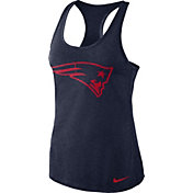 Nike Women's New England Patriots Dri-FIT Performance Navy Tank Top
