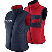 Nike Women's New England Patriots Sideline 2017 Reversible Navy Vest