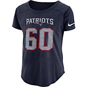 Nike Women's New England Patriots Modern Fan Navy Top