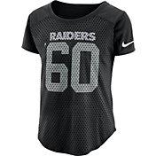 Nike Women's Oakland Raiders Modern Fan Black Top