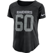 Nike Women's Oakland Raiders Modern Fan Black Top