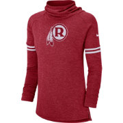 Nike Women's Washington Redskins History Red Funnel Pullover