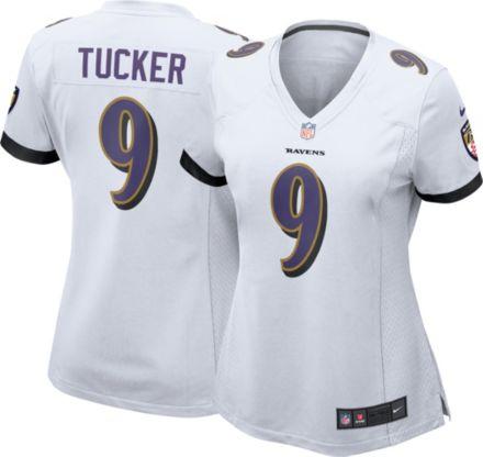 ad89a6983 Nike Women  39 s Away Game Jersey Baltimore Ravens Justin Tucker  9