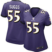 Nike Women's Home Game Jersey Baltimore Ravens Terrell Suggs #55