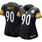 Nike Women's Pittsburgh Steelers T.J. Watt #90 Black Game Jersey