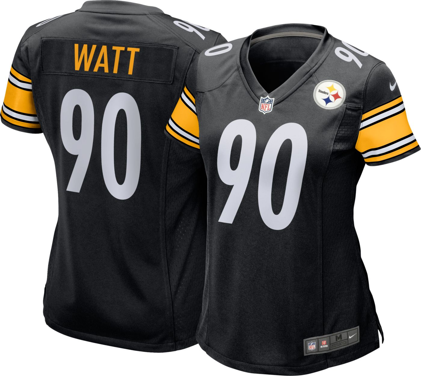 Nike Women's Home Game Jersey Pittsburgh Steelers T.J. Watt #90