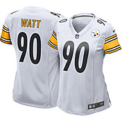Nike Women's Away Game Jersey Pittsburgh Steelers T.J. Watt #90