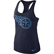 Nike Women's Tennessee Titans Dri-FIT Performance Navy Tank Top