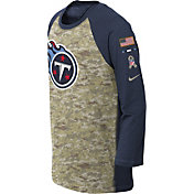 Nike Youth Tennessee Titans Salute to Service 2017 Raglan