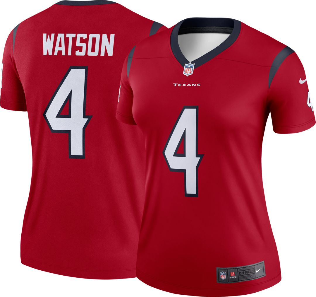 1dca4c49 Nike Women's Home Legend Jersey Houston Texans Deshaun Watson #4