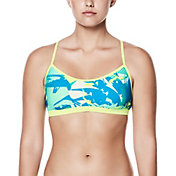 Nike Women's Drift Graffiti Crossback Bikini Top