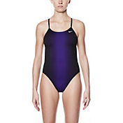 Nike Women's Fade Sting V-Back Swimsuit