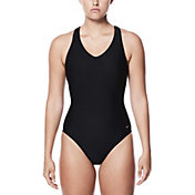 Nike Women's Rib Racerback Swimsuit