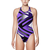 Nike Women's Tidal Riot Fast Back Swimsuit