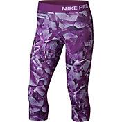 Nike Girls' Pro Printed Capris