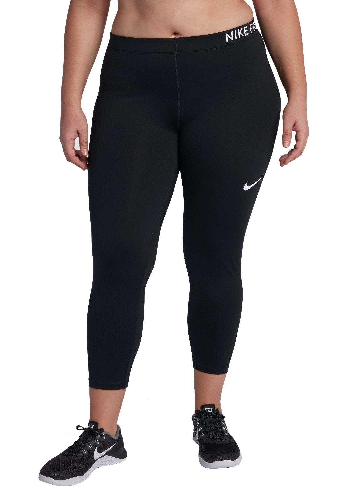 Nike Women's Plus Size Pro Training Capris