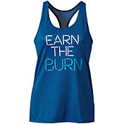 Nike Women's Dry Legend Earn The Burn Graphic Tank Top