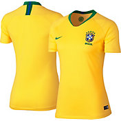 Nike Women's 2018 FIFA World Cup Brazil Breathe Stadium Home Replica Jersey