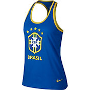 Nike Women's 2018 FIFA World Cup Brazil Crest Royal Tank Top