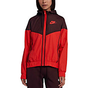Product Image · Nike Women s Sportswear Windrunner Jacket · Habanero Red  Black ... 4b4babf70