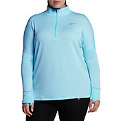 Nike Women's Plus Size Sphere Element ½ Zip Running Shirt