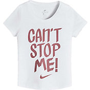 Nike Girls' Sportswear Can't Stop Me Graphic T-Shirt